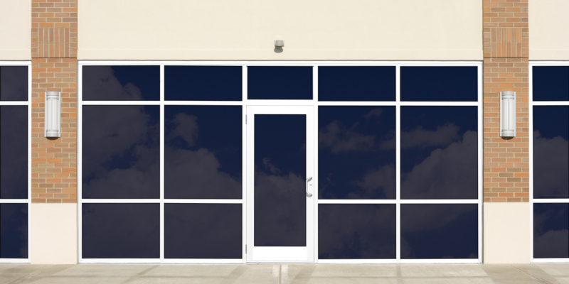 Commercial window tinting can help you with both